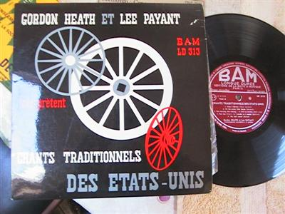 GORDON HEATH & LEE PAYANT - CHANTS - BAM RECORDS { 228